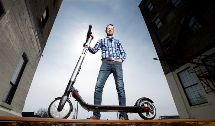 Kitchener E-Scooter Startup Waits on Rule Changes