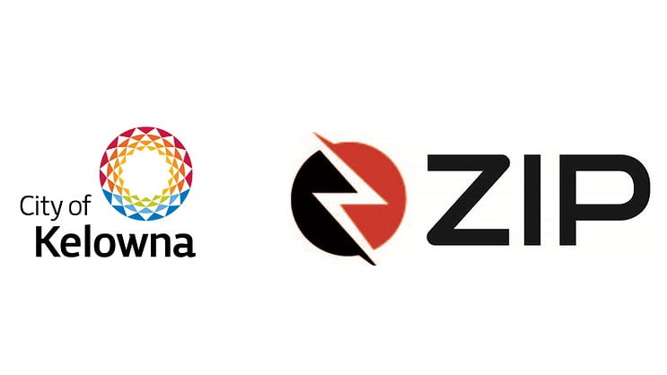 City of Kelowna and Zip Dockless Logo