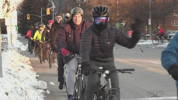Annual Winter Ride Your Bike to Work Day rolls through Kitchener